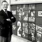 "BOB CLAYTON HOST OF THE NBC TV GAME SHOW ""CONCENTRATION"" - 8X10 PHOTO (DA-730)"