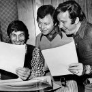 LEONARD NIMOY, DeFOREST KELLY AND WILLIAM SHATNER 8X10 PUBLICITY PHOTO (DA-505)