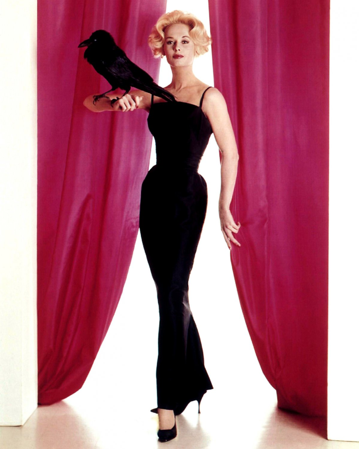 TIPPI HEDREN IN THE 'THE BIRDS' ALFRED HITCHCOCK - 8X10 PUBLICITY PHOTO (NN-145)