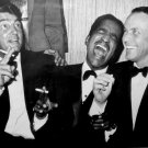 THE RAT PACK DEAN MARTIN SAMMY DAVIS, JR. & FRANK SINATRA - 8X10 PHOTO (AA-724)