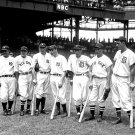 1937 BASEBALL ALL-STAR GAME LOU GEHRIG JOE DIMAGGIO FOXX - 8X10 PHOTO (EP-015)