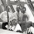 NASA OFFICIALS IN LAUNCH CONTROL CENTER FOR APOLLO 10 - 8X10 NASA PHOTO (EP-018)