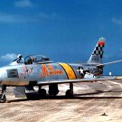 USAF F-86 SABRE AIRCRAFT FLOWN BY JOHN GLENN IN KOREA - 8X10 PHOTO (BB-094)