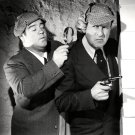 "BUD ABBOTT AND LOU COSTELLO IN THE 1942 FILM ""WHO DONE IT? - 8X10 PHOTO (CC-147)"