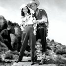 "ROY ROGERS AND DALE EVANS ""KING OF THE COWBOYS"" - 8X10 PUBLICITY PHOTO (EP-021)"