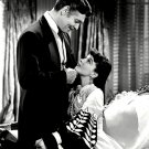 CLARK GABLE & VIVIEN LEIGH IN 'GONE WITH THE WIND' 8X10 PUBLICITY PHOTO (AB-001)
