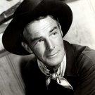 "RANDOLPH SCOTT IN THE 1952 FILM ""CARSON CITY"" - 8X10 PUBLICITY PHOTO (OP-074)"