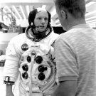 NEIL ARMSTRONG APOLLO 11 ASTRONAUT WITH DON LIND - 8X10 NASA PHOTO (BB-112)