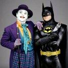 "JACK NICHOLSON (JOKER) & MICHAEL KEATON ""BATMAN"" - 8X10 PUBLICITY PHOTO (BB-118)"