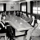 NACA SPECIAL COMMITTEE ON SPACE TECHNOLOGY VON BRAUN - 8X10 NASA PHOTO (EP-042)