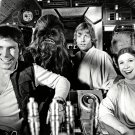 "HARRISON FORD, MARK HAMILL & CARRIE FISHER IN ""STAR WARS"" - 8X10 PHOTO (ZZ-659)"