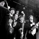 "THE BEATLES APPEAR ON ""THE ED SULLIVAN SHOW"" NEW YORK 1964 - 8X10 PHOTO (ZZ-021)"