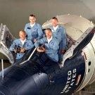 THE GEMINI 12 PRIME AND BACKUP ASTRONAUT CREWS - 8X10 NASA PHOTO (BB-751)