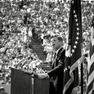 "PRESIDENT JOHN F KENNEDY DELIVERS ""MOON SPEECH"" AT RICE UNIV 8X10 PHOTO (BB-127)"