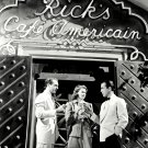 "HUMPHREY BOGART, PAUL HENREID & INGRID BERGMAN ""CASABLANCA"" 8X10 PHOTO (DA-500)"