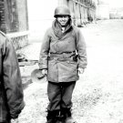 MICKEY ROONEY AT THE 17TH AIRBORNE BASE DURING WORLD WAR II 8X10 PHOTO (DA-095)