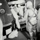 ALAN SHEPARD MERCURY ASTRONAUT APPROACHES FREEDOM 7 - 8X10 NASA PHOTO (AA-276)