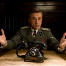 "CHRISTOPH WALTZ IN THE FILM ""INGLORIOUS BASTERDS"" - 8X10 PUBLICITY PHOTO (AZ125)"