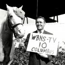 "ALAN YOUNG & ""MISTER ED"" FOR WBNS-TV COLUMBUS OH - 8X10 PUBLICITY PHOTO (ZY-125)"