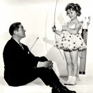 """SHIRLEY TEMPLE WARNER BAXTER """"STAND UP AND CHEER!"""" 8X10 PUBLICTY PHOTO (DA-037)"""