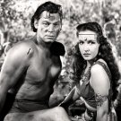 "JOHNNY WEISSMULLER & FRANCES GIFFORD IN ""TARZAN TRIUMPHS"" - 8X10 PHOTO (AB-188)"