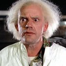 "CHRISTOPHER LLOYD AS ""DOC BROWN"" IN ""BACK TO THE FUTURE"" - 8X10 PHOTO (AZ199)"