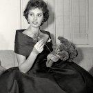ACTRESS SOPHIA LOREN - 8X10 PUBLICITY PHOTO (ZY-322)