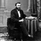ULYSSES S. GRANT - 18TH PRESIDENT OF THE UNITED STATES - 8X10 PHOTO (BB-067)