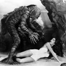 "JULIE ADAMS & BEN CHAPMAN ""CREATURE FROM THE BLACK LAGOON"" - 8X10 PHOTO (CC-173)"