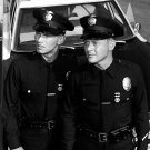 """KENT McCORD AND MARTIN MILNER IN """"ADAM-12"""" - 8X10 PUBLICITY PHOTO (BB-097)"""