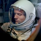 ASTRONAUT NEIL ARMSTRONG INSIDE GEMINI 8 BEFORE LAUNCH 8X10 NASA PHOTO (AA-342)