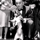 "PRESIDENT LYNDON B. JOHNSON WITH PET BEAGLE ""HIM"" - 8X10 PHOTO (BB-183)"