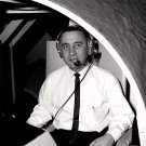 ASTRONAUT GUS GRISSOM IN VISUAL DOCKING SIMULATOR - 8X10 NASA PHOTO (EP-100)