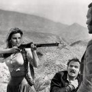 "RAQUEL WELCH, BURT REYNOLDS AND JIM BROWN IN ""100 RIFLES"" - 8X10 PHOTO (ZZ-074)"