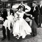 JOHN F. KENNEDY & NEW WIFE JACQUELINE WEDDING RECEPTION 1953 8X10 PHOTO (ZZ-077)