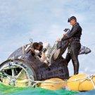 NAVY FROGMEN HELP ASTRONAUT JOHN YOUNG OUT GEMINI 10 - 8X10 NASA PHOTO (AA-376)