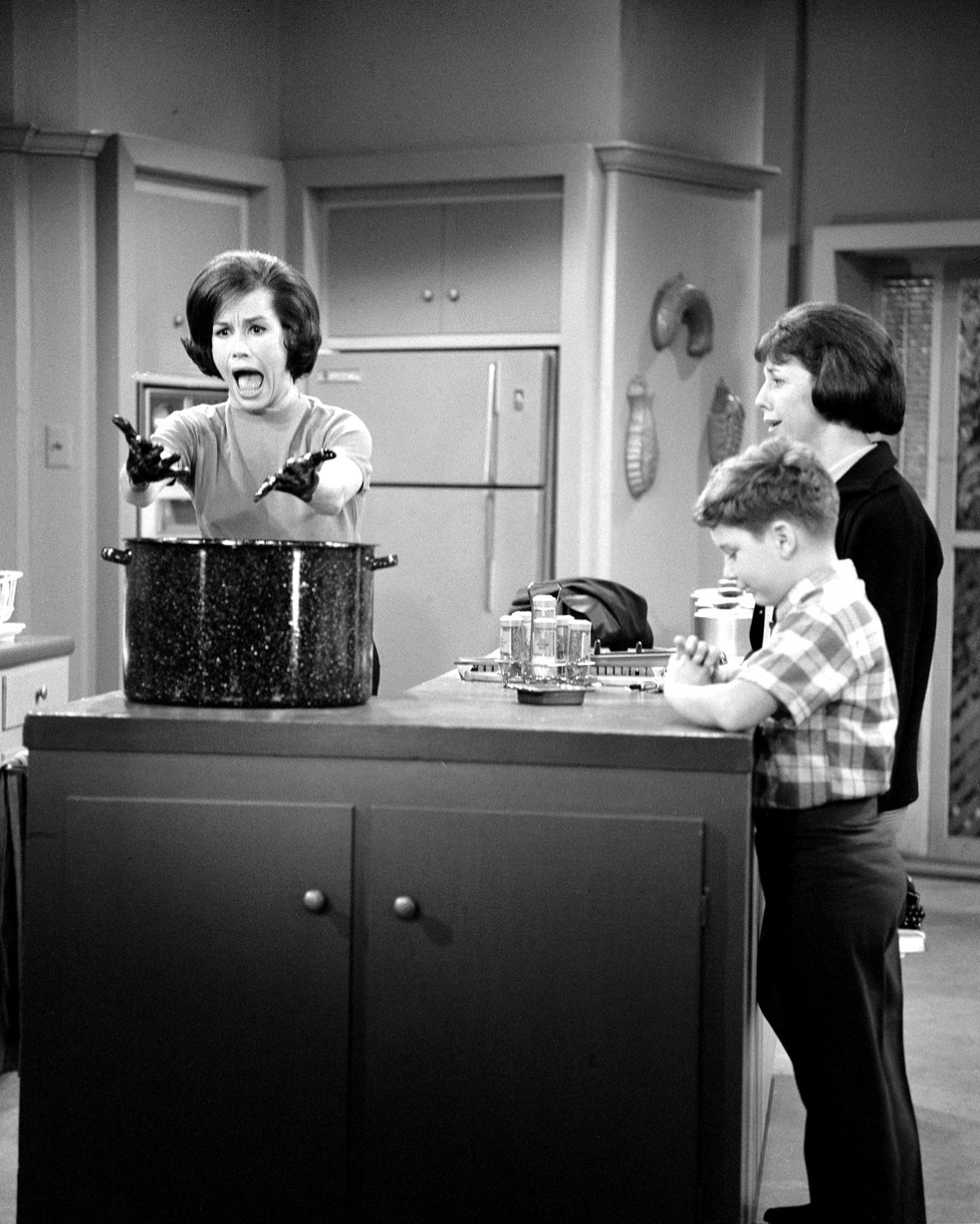 "MARY TYLER MOORE & ANN GUILBERT IN ""THE DICK VAN DYKE SHOW"" 8X10 PHOTO (CC-198)"