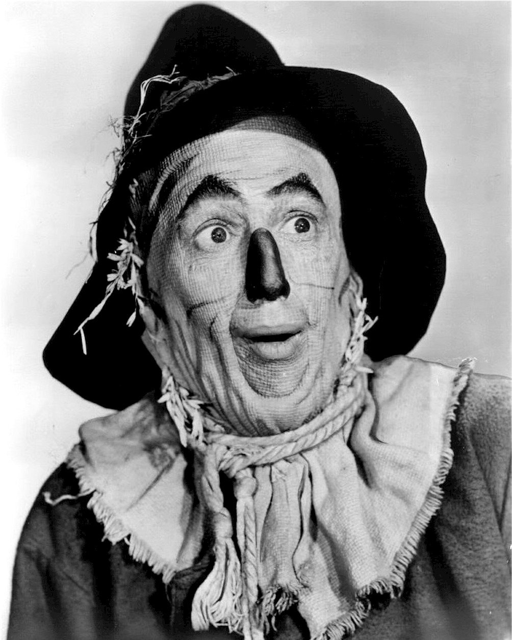 """RAY BOLGER AS """"THE SCARECROW"""" IN """"THE WIZARD OF OZ"""" - 8X10 PHOTO (EE-179)"""