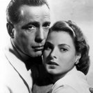 "HUMPHREY BOGART & INGRID BERGMAN IN ""CASABLANCA"" - 8X10 PUBLICITY PHOTO (EE-180)"