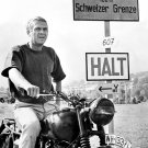 "STEVE McQUEEN IN THE FILM ""THE GREAT ESCAPE"" - 8X10 PUBLICITY PHOTO (ZY-413)"