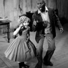 "SHIRLEY TEMPLE & BILL ROBINSON IN ""THE LITTLEST REBEL"" - 8X10 PUBLICITY PHOTO (ZY-449)"