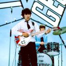 """GEORGE HARRISON AND RINGO STARR """"THE BEATLES"""" - 8X10 PUBLICITY PHOTO (ZY-492)"""