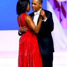 BARACK OBAMA & MICHELLE DANCE @ THE INAUGURAL BALL IN 2013 - 8X10 PHOTO (ZY-629)