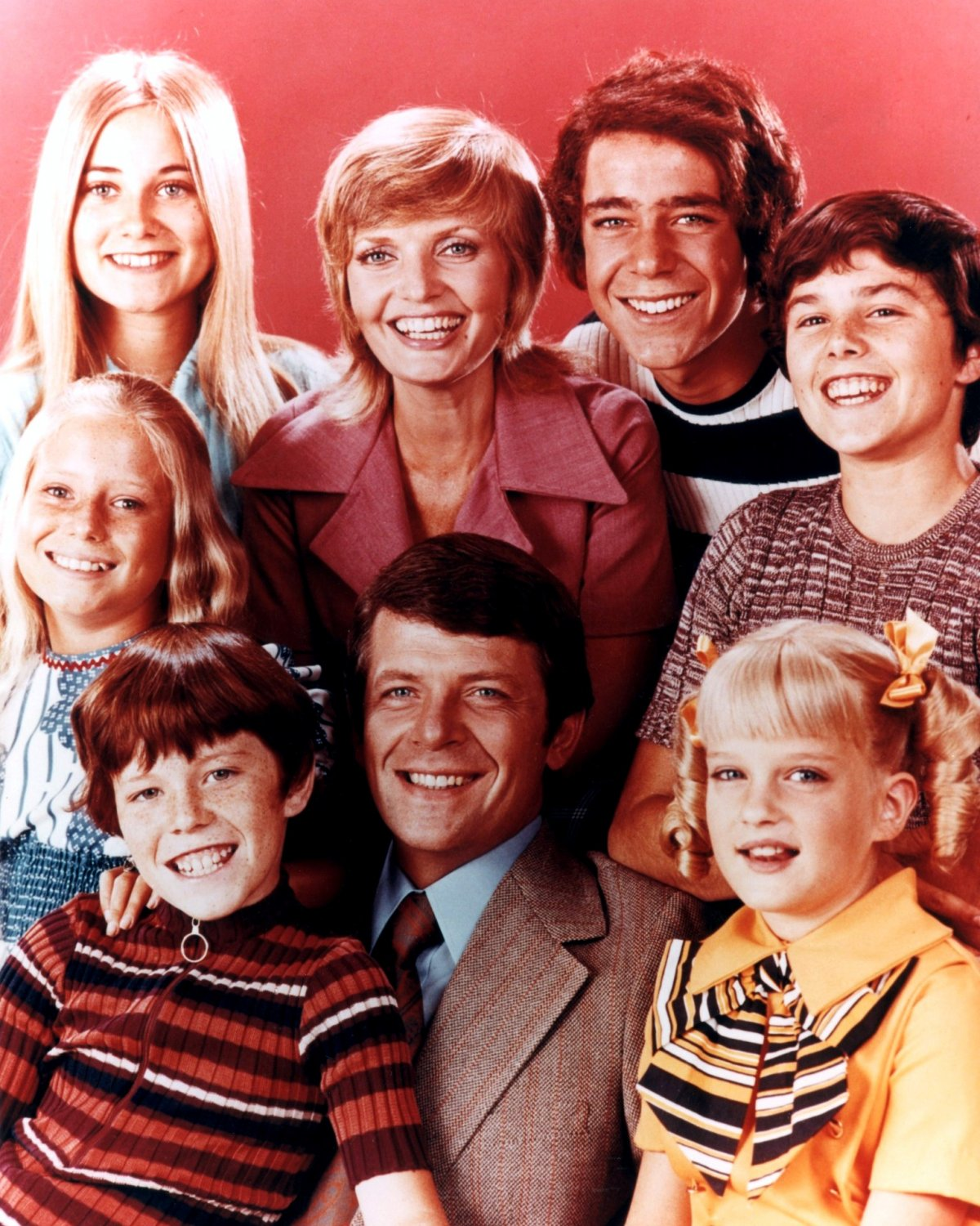 """""""THE BRADY BUNCH"""" FLORENCE HENDERSON ROBERT REED - 8X10 PUBLICITY PHOTO (ZY-650)"""
