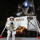 NEIL ARMSTRONG APOLLO 11 ASTRONAUT DURING TRAINING - 8X10 NASA PHOTO (ZZ-583)