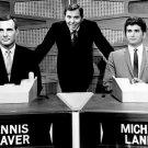 "GENE RAYBURN DENNIS WEAVER & MICHAEL LANDON ""THE MATCH GAME"" 8X10 PHOTO (BB-540)"