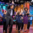 "MICHELLE OBAMA DURING ""DR. OZ SHOW"" TAPING IN 2013 - 8X10 PHOTO (ZY-556)"
