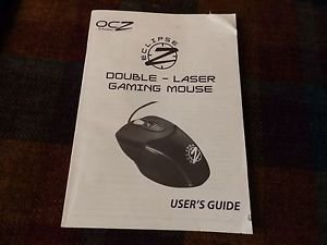 ocz eclipse professiona gaming Wired mouse manual