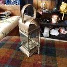 Brass oil gas lamp