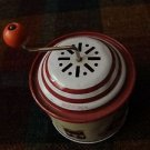 Vtg soldier TIN CIRCULAR WIND UP MUSIC BOX -W. Germany by Lorenz Bolz Zirndorf
